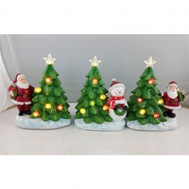TIMSTOR SET 3 ALBERI CON LED